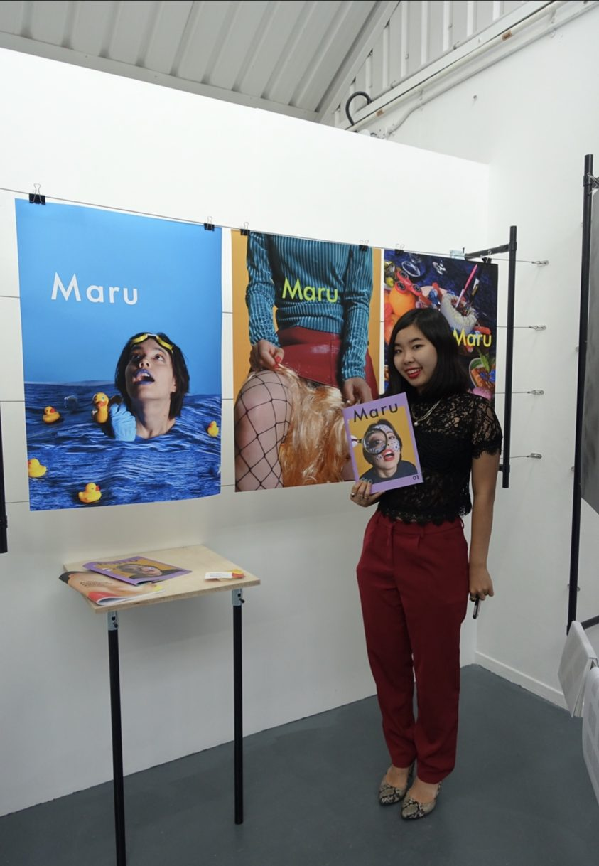 映画撮影の手伝いと、その映画にデザインしたポスター。 ファイナルプロジェクトを卒業制作展で展示してるところ。