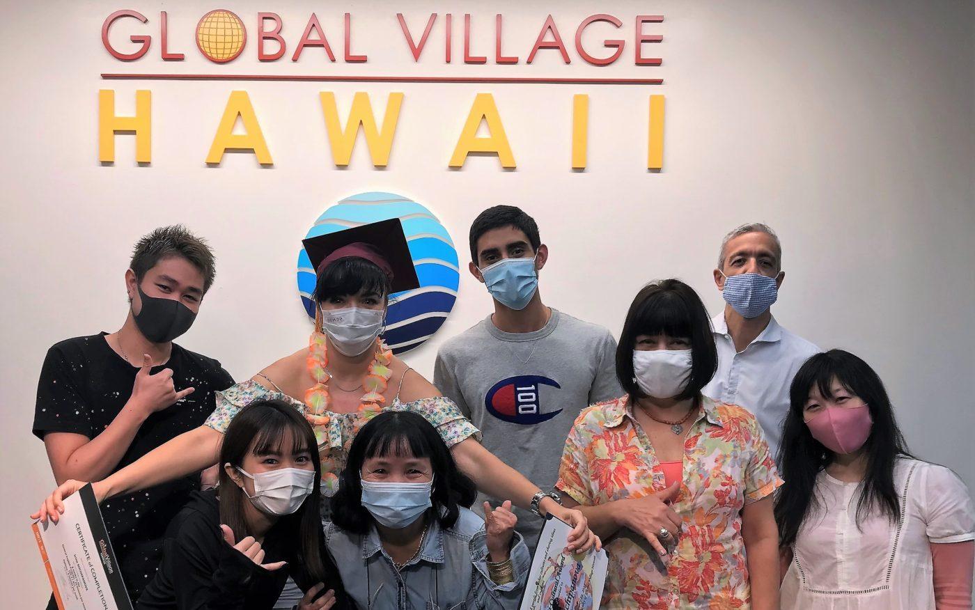 語学学校 Global Village 生徒写真